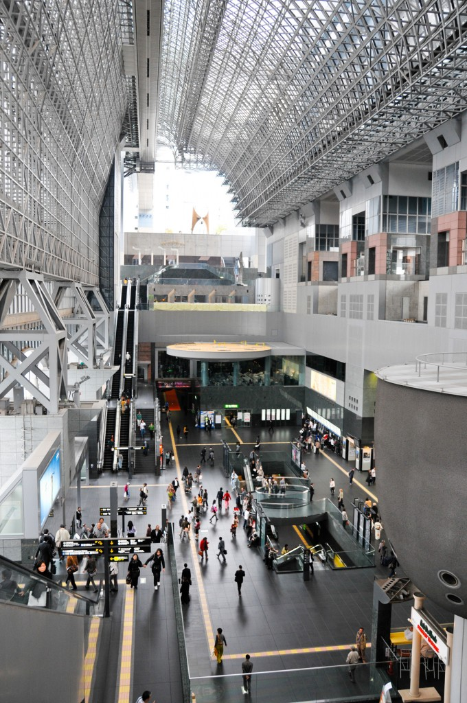 Interior of Kyoto Station - Japan