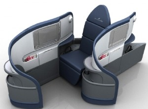 One first class seating configurartion - internet photo