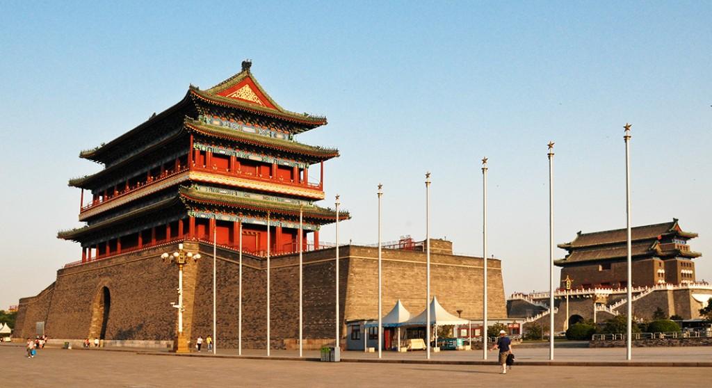 Qian Men Double Gate