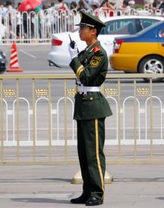 Uniformed Security - Tiananmen Square - Beijing