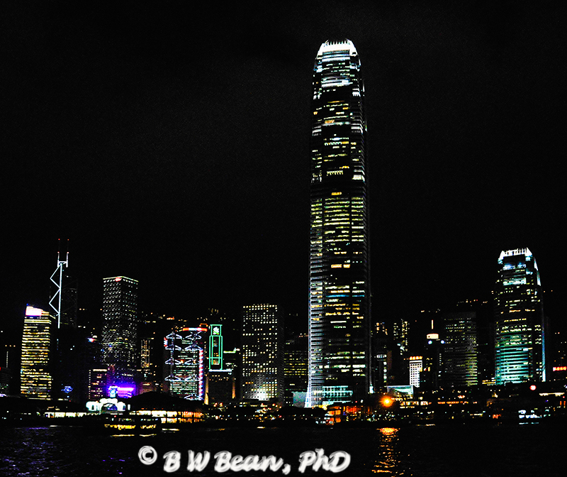 Hong Kong Harbor View