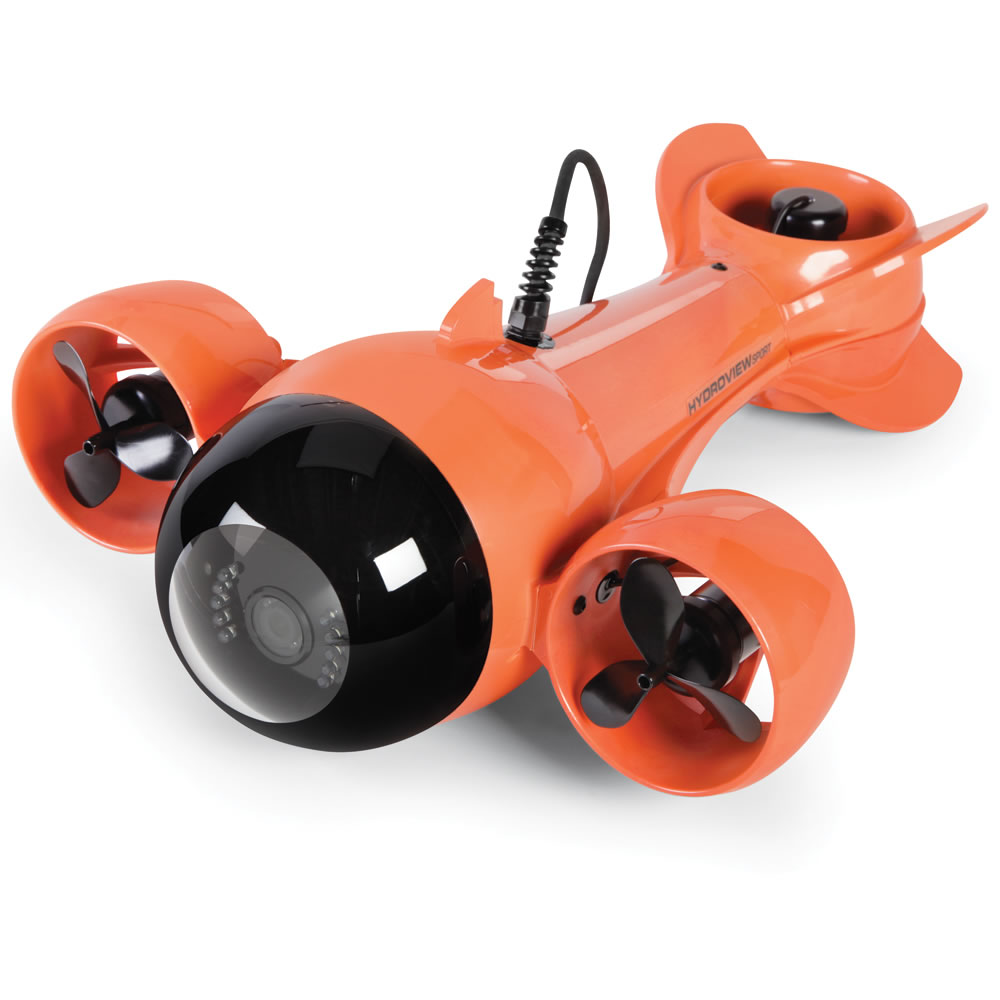 Remote controlled, submarine camera system - Hammacher Schlemmer