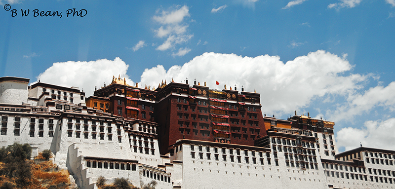 Potala Palace - One time home of the Dali Lama