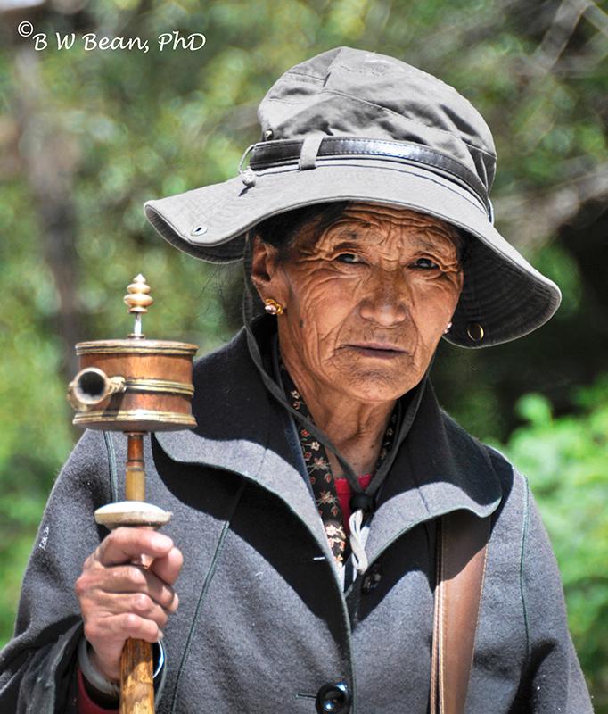 tibet woman 2
