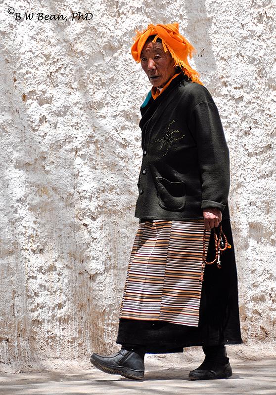 tibet woman