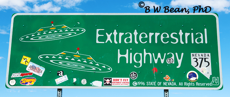 Extraterrestrial Highway Going Where No Man Has Gone Before