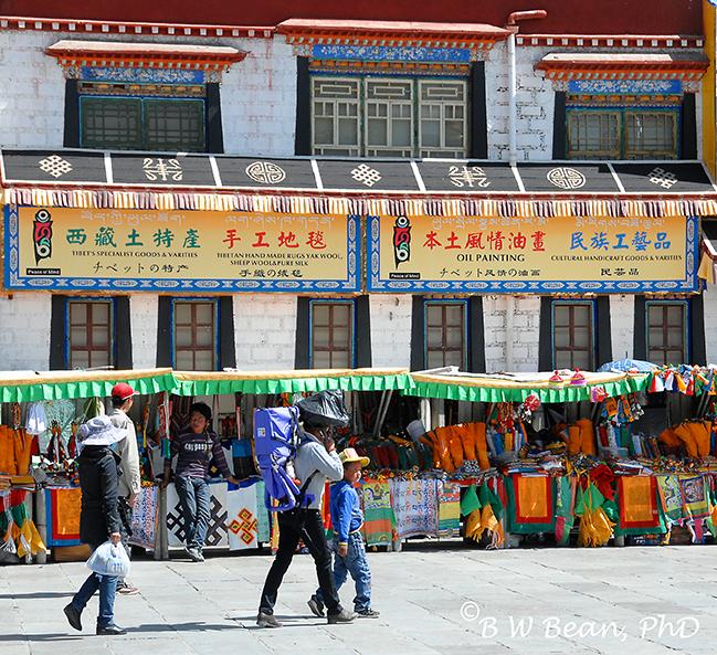 tibet venders
