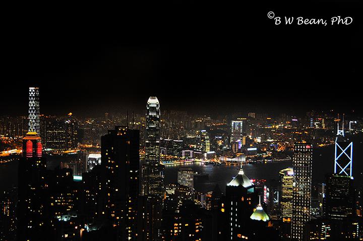 tripod HongKong Peak