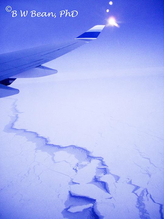 japan polar route