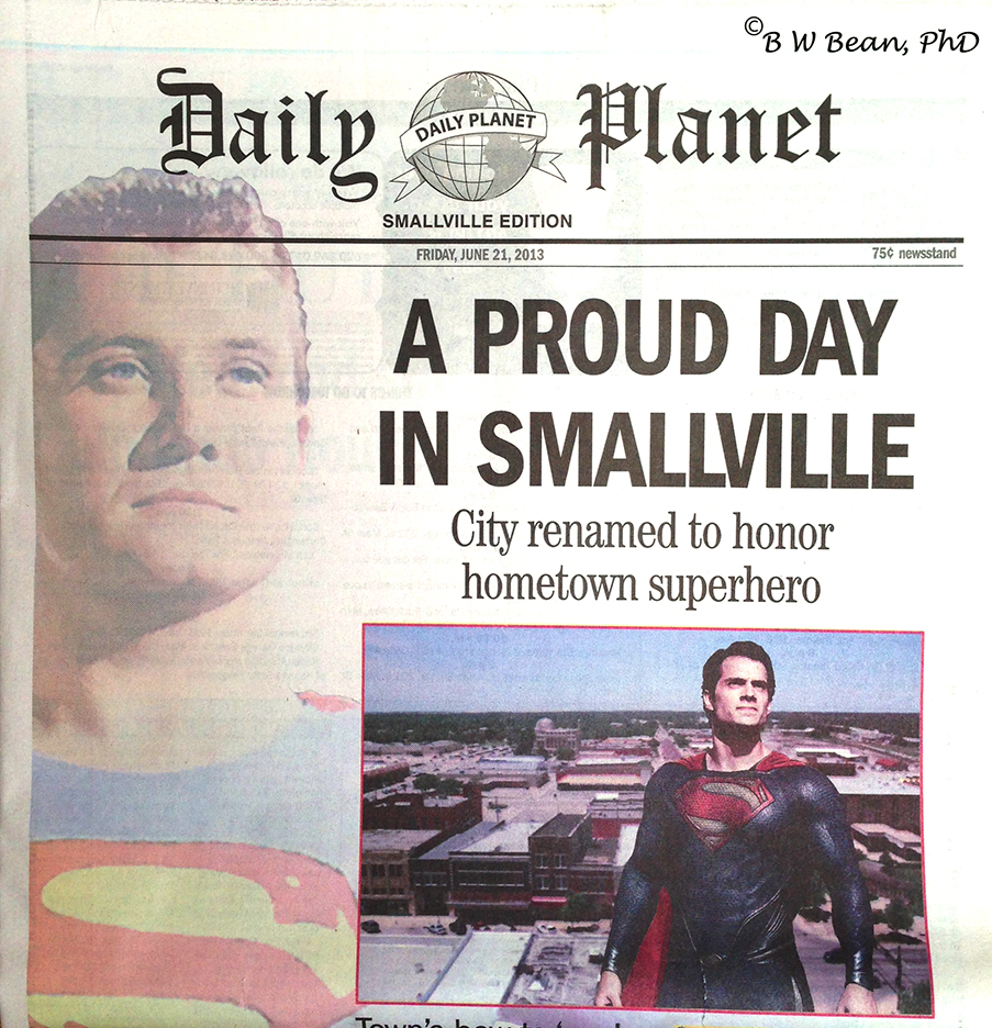 sville newspaper front page