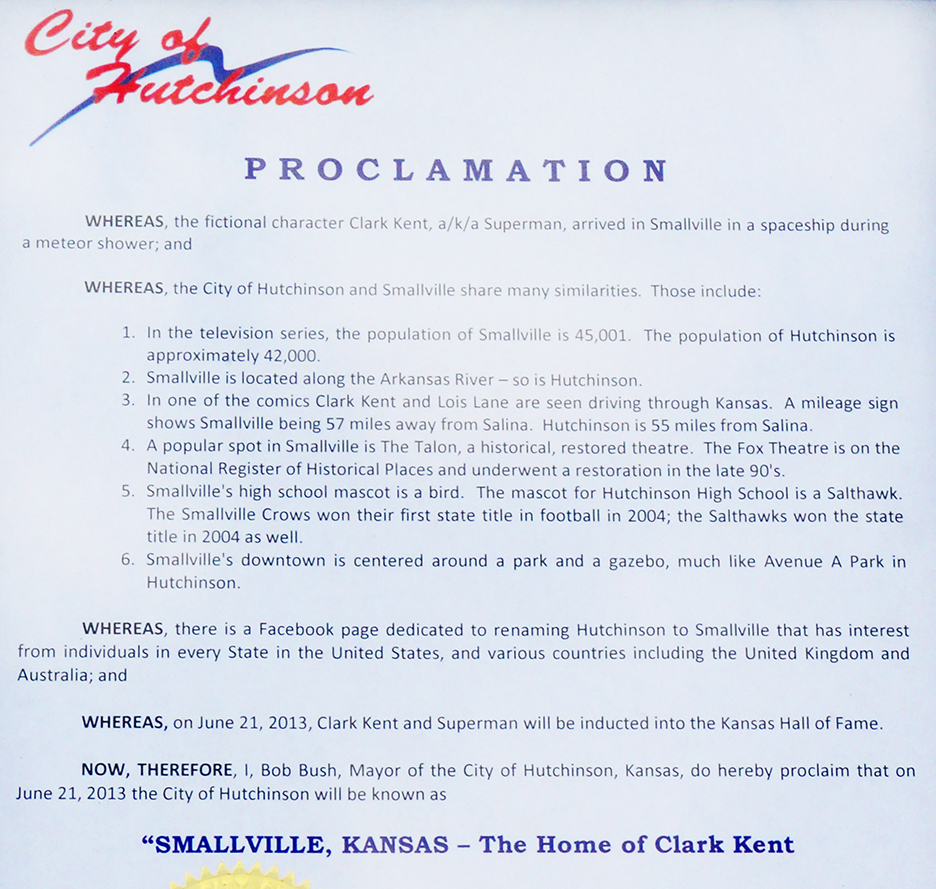 sville proclamation detail