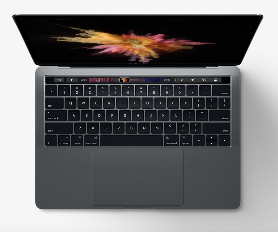 Apple MacBook Pro with Task Bar - Image by Apple