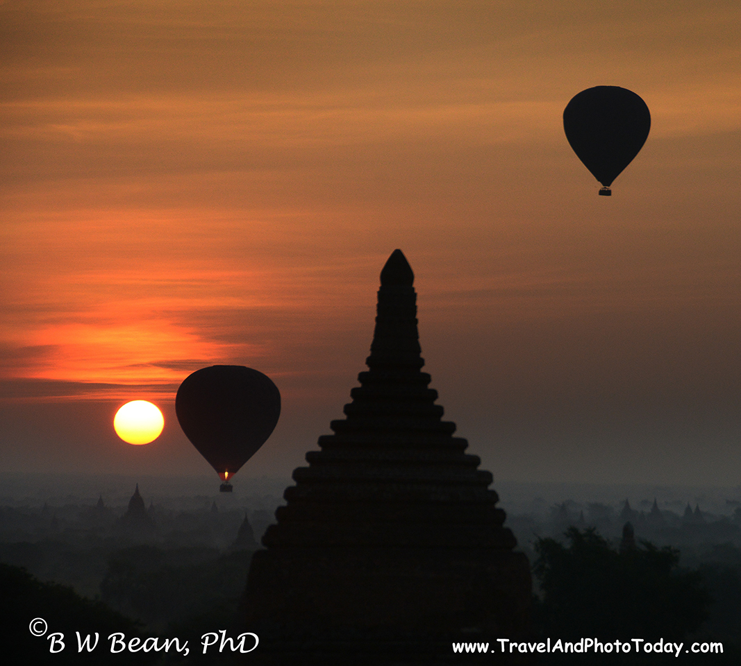 Bagan Dawn Balloon