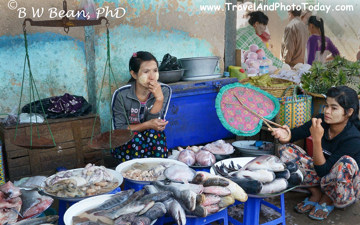 Bagan Fish Market