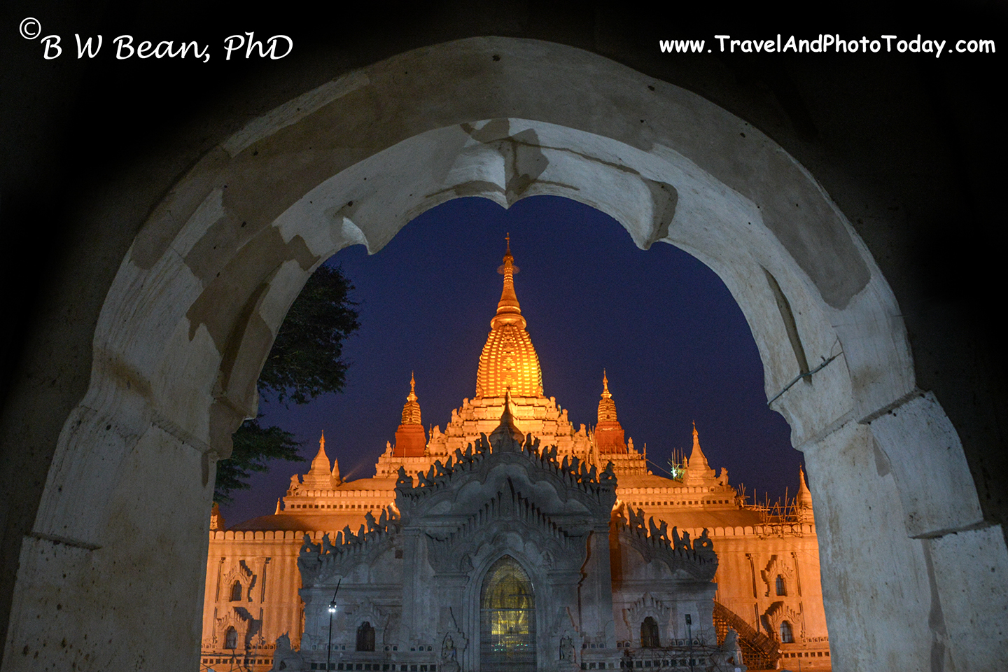 Bagan Night Temple