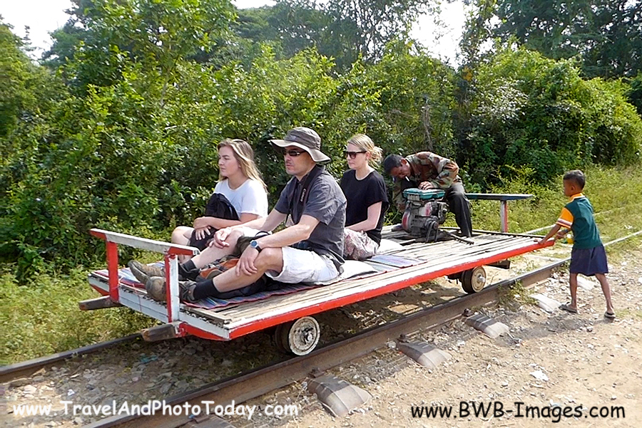 Bamboo Train Car 2