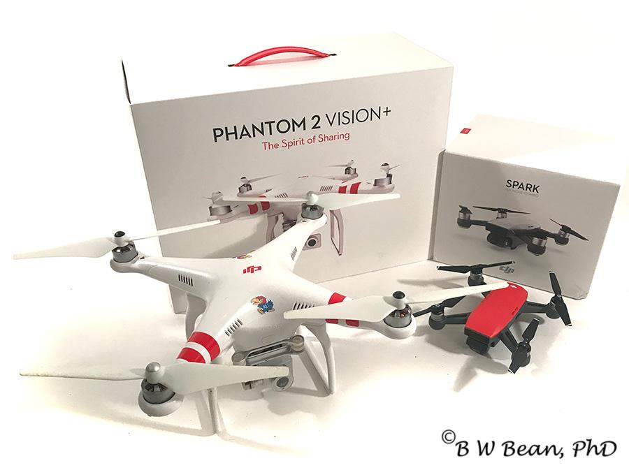 Boxes & drones
