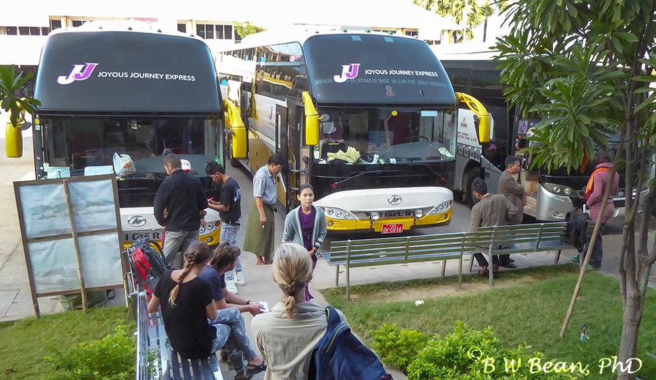 Bus 8 Myanmar