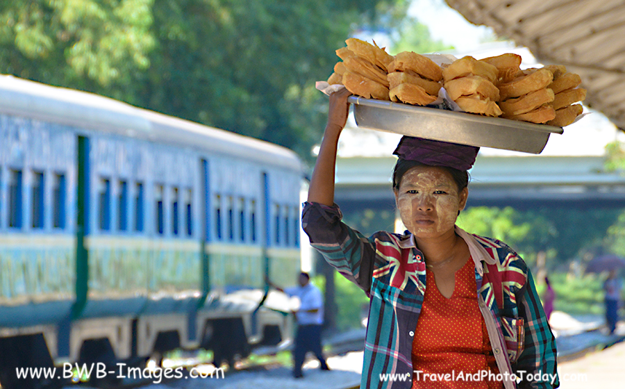 Yangon Circle Train - Flash Back Friday
