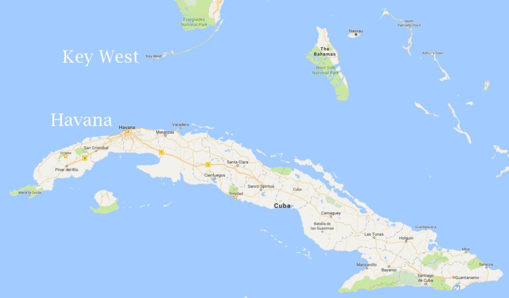 Cuba map 3