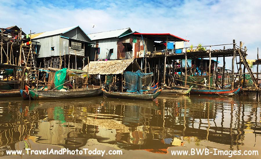 Kampong Phluk stilt homes