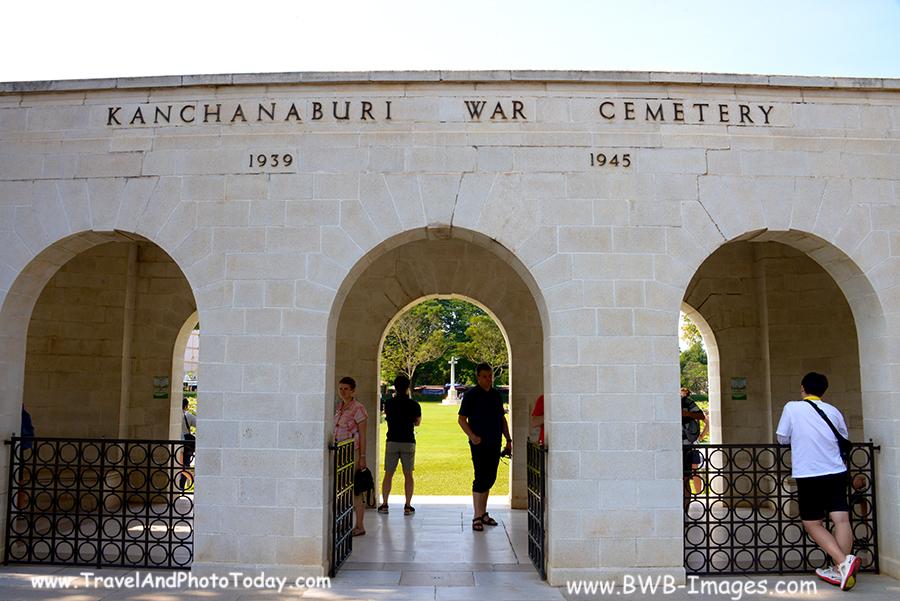 Kwai Cemetary entrance