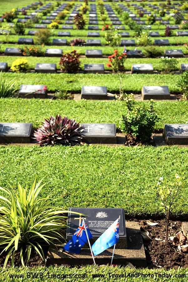 Kwai Cemetary headstones