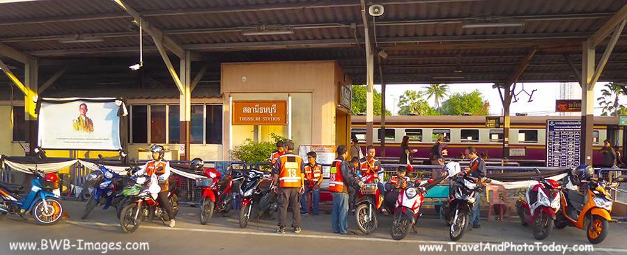 Kwai Thon station street
