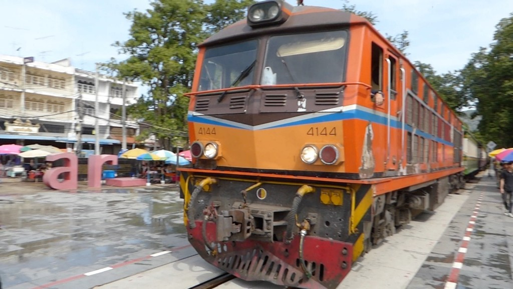 Kwai train engine