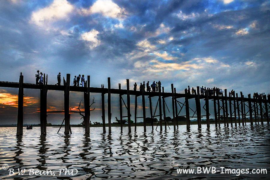 Mandalay bridge