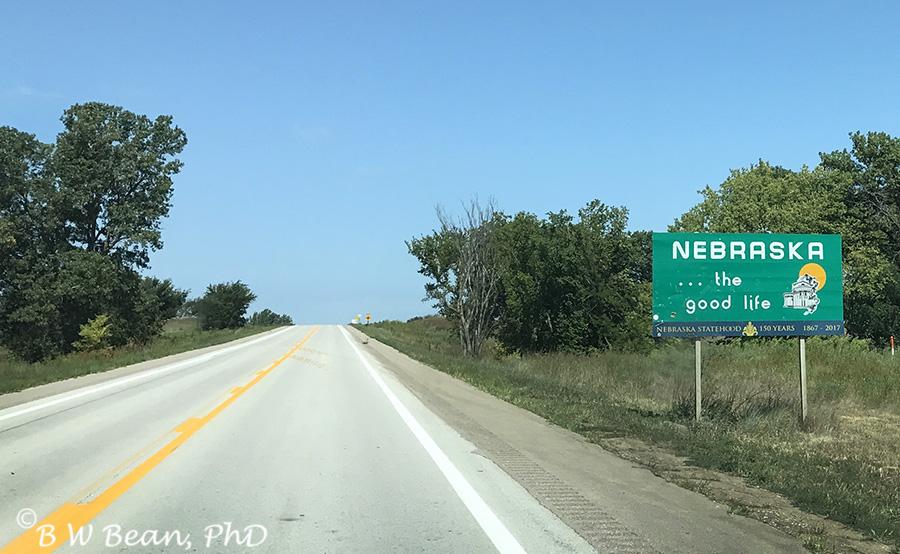 Nebraska Sign
