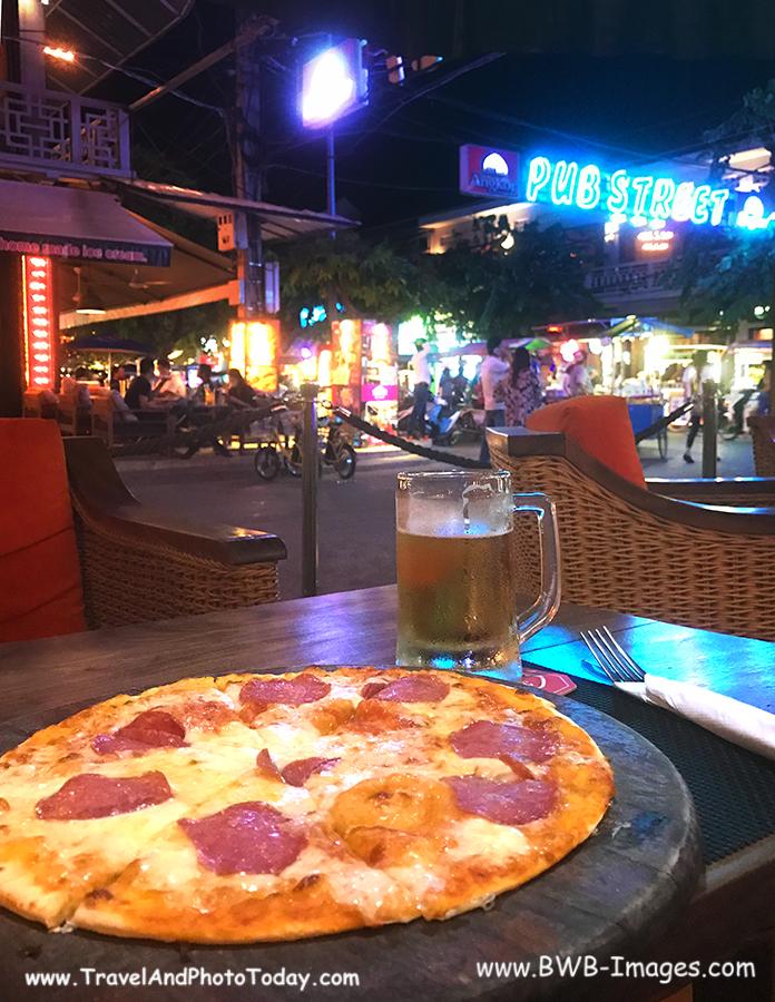 Pub St pizza
