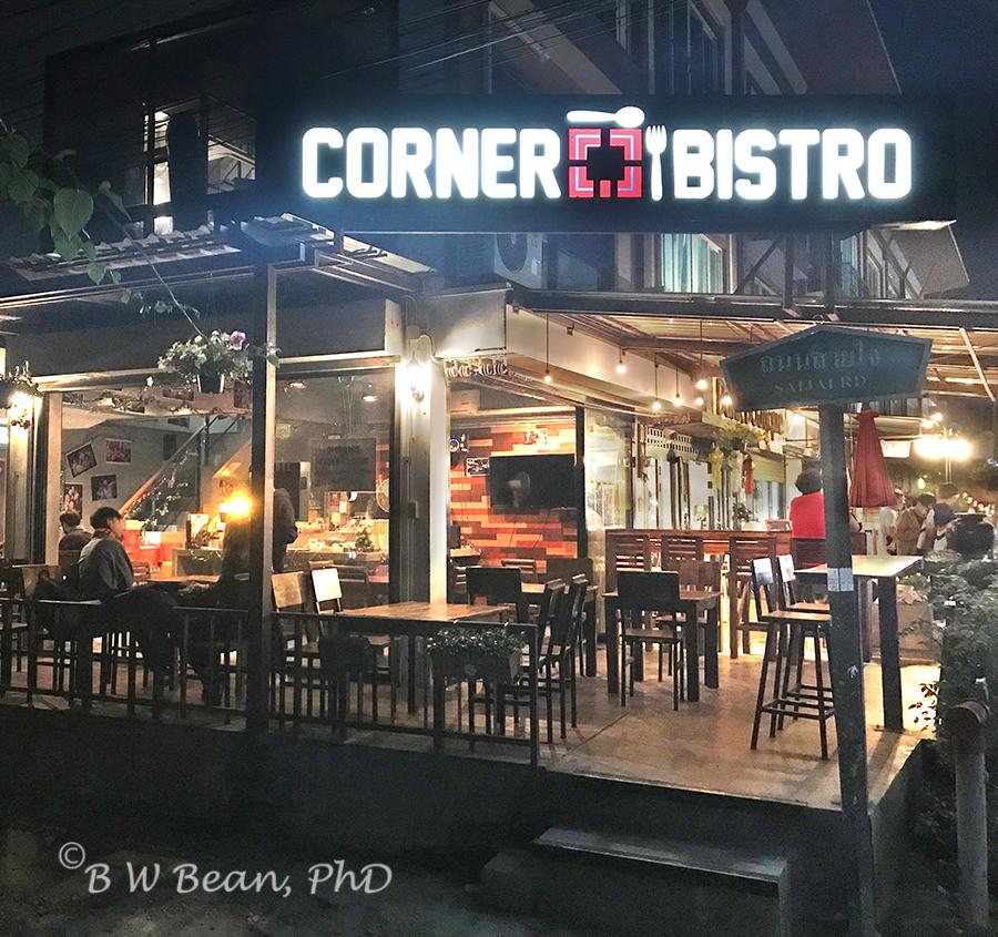 Corner Bistro Exterior