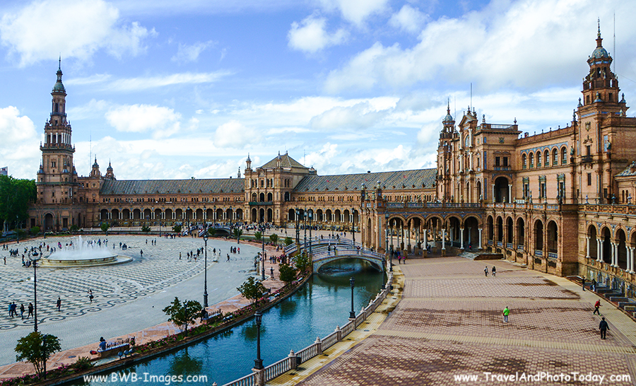 Sevilla Plazza Espana 9