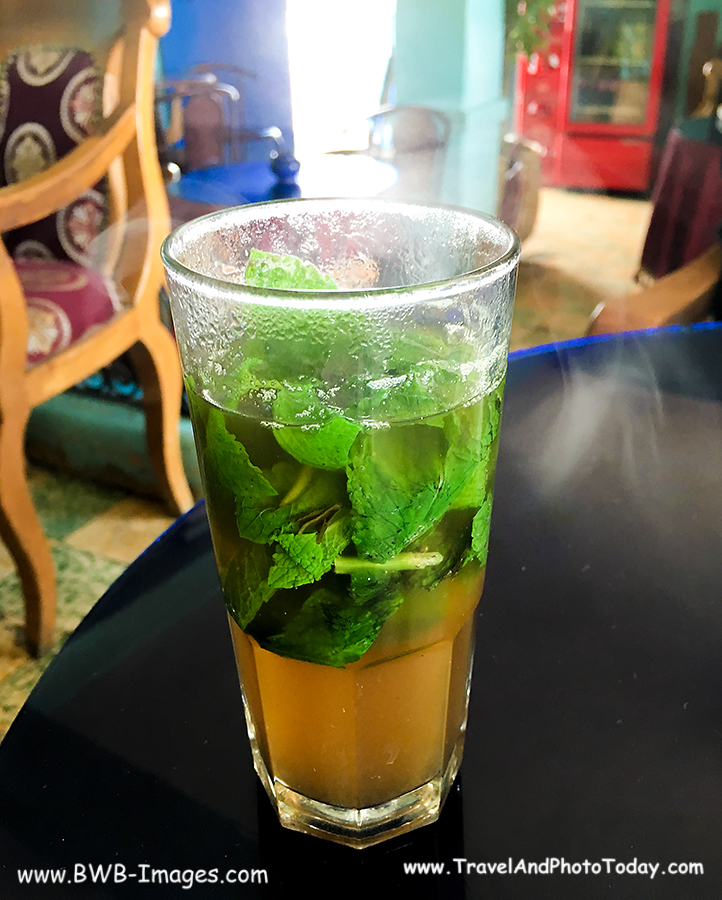 Tangier Cafe Baba Mint Tea