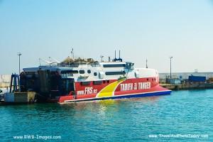 Tangier Ferry Shot