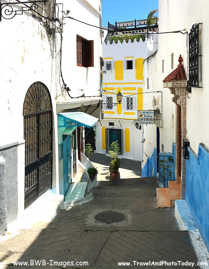Tangier cafe baba