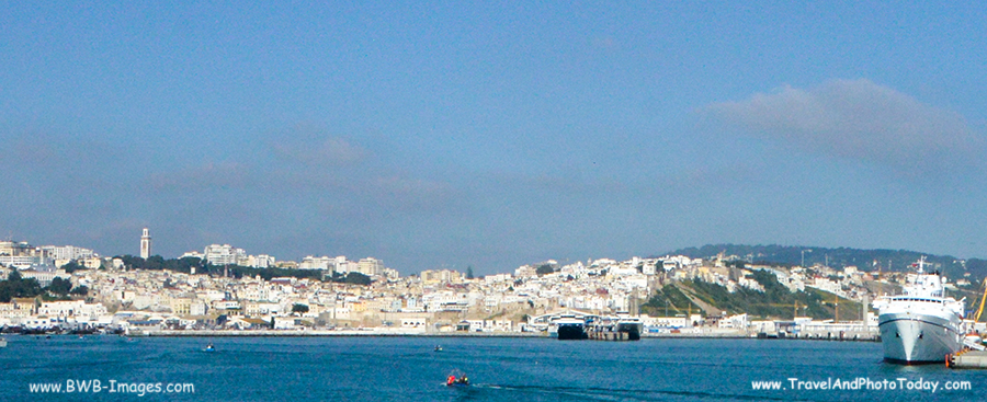 Tangier day trip morocco travel and photo todaytravel - Moroccan port on the strait of gibraltar ...