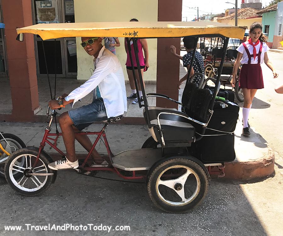 Trans pedicab
