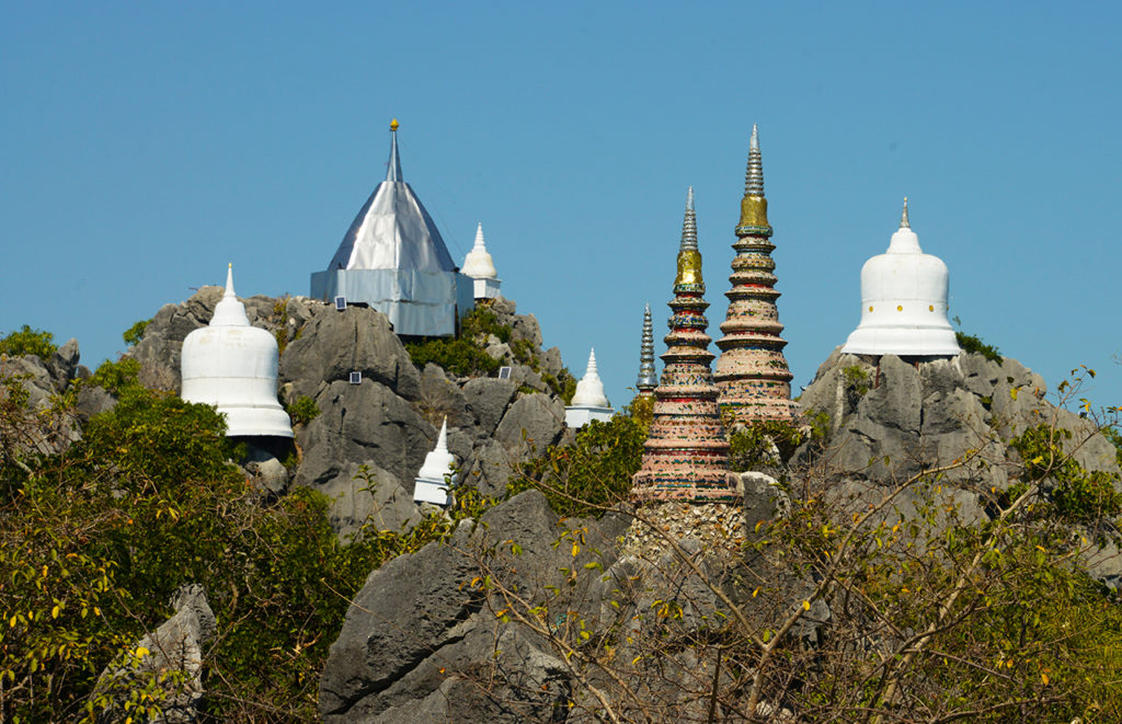 Wat Chaloem Phra Kiat - The Sky Pagoda in Thailand