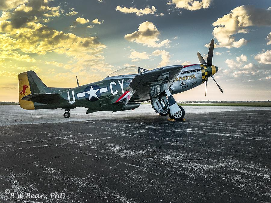 airshow-p51
