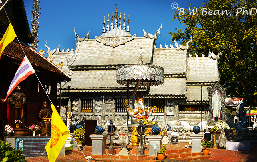 WAT SRI SUPHAN - THE SILVER TEMPLE - CHIANG MAI