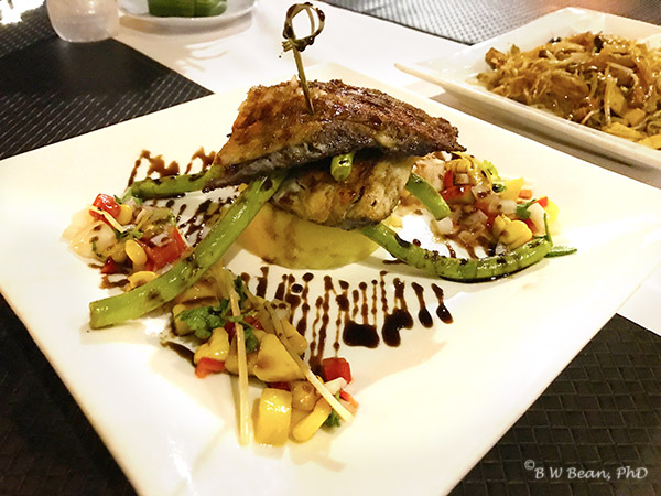 Deck 1 - Grilled Sea Bass