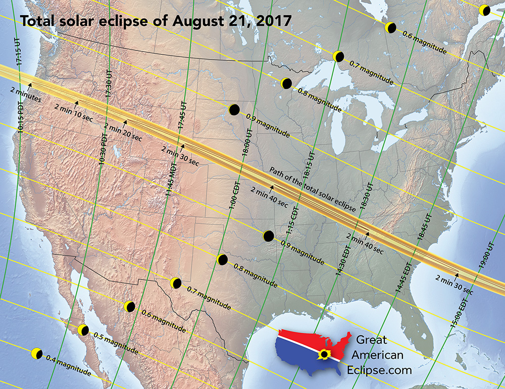 eclipse percent map