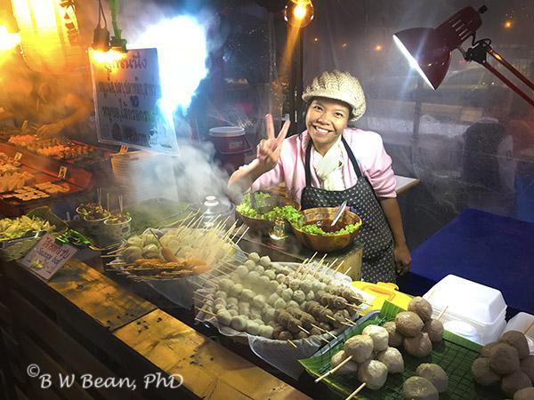 Street Food Dining - Chiang Mai