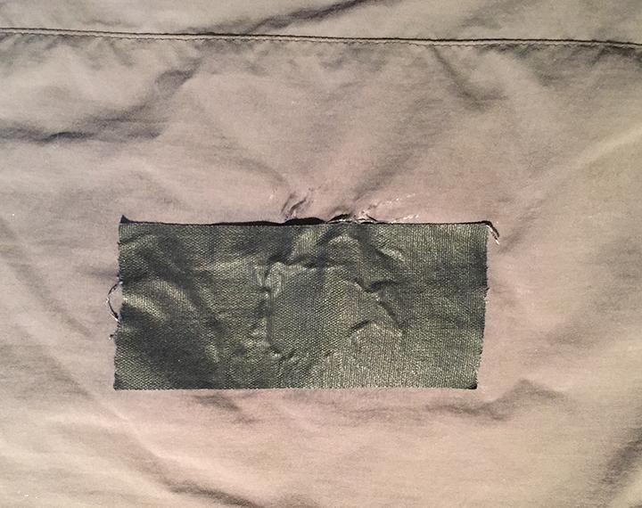 gaffers tape patch
