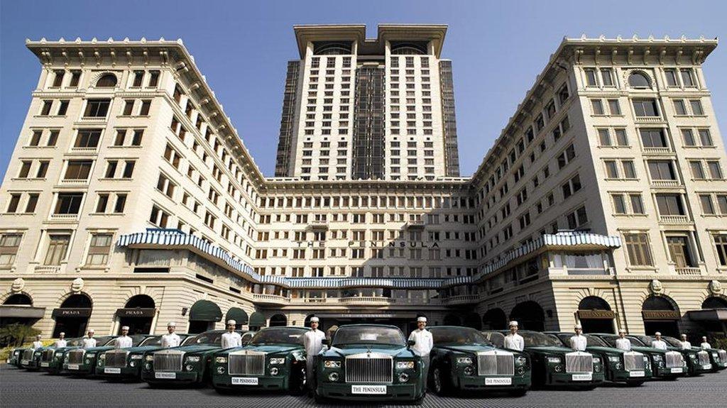 hong kong hotel-exterior