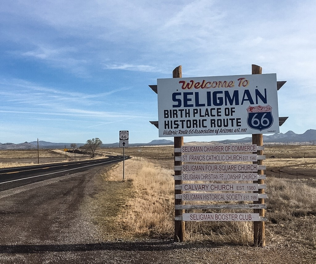 "ARIZONA ROAD TRIP - SELIGMAN ""DETOUR"""