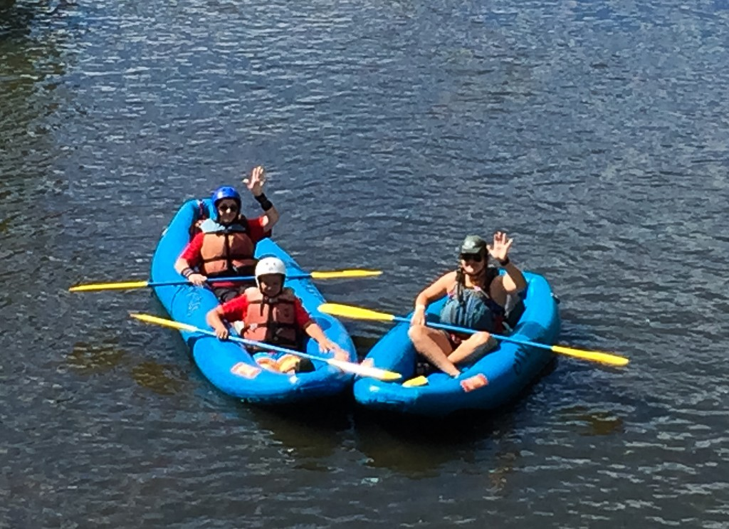 Rafters on the South Platte River