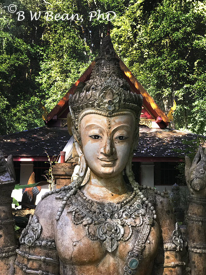 EXPLORE THE MONK'S TRAIL &  DISCOVER  LOVELY PHA LAT - Chiang Mai, Thailand